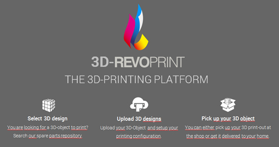 3D-REVOPRINT Logo